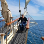 On Tenacious - wheelchair accessible