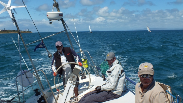 JB at the helm