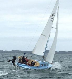 Brisk conditions in Champagne sternchaser