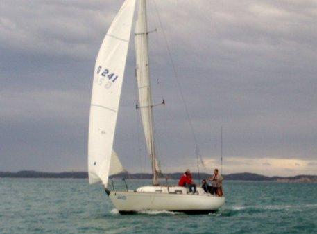 Yacht racing Queenscliff Yacht Tiercel
