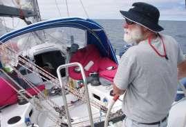 Bill Reynolds on helm of Sundance Tasmania East Coast