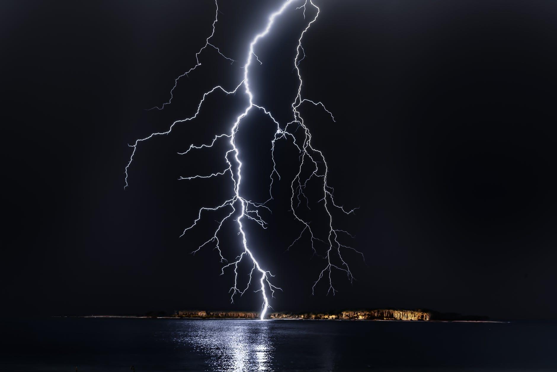 photo of lightning